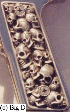Skull grips