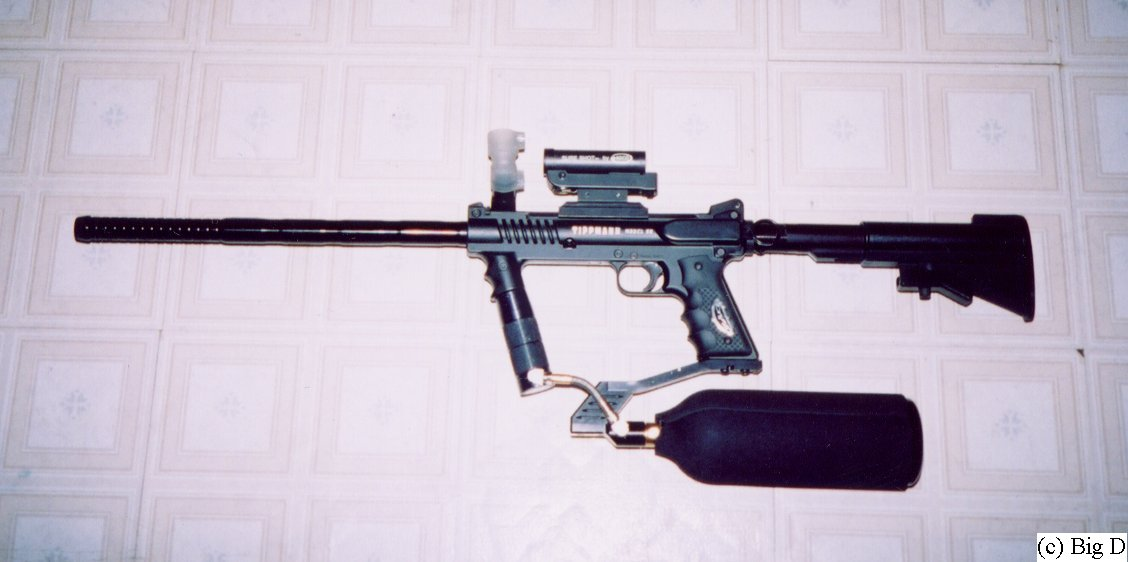 Model 98 with stock extended